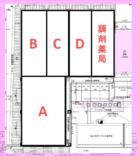 藤沢メディカルスクエア平面図1