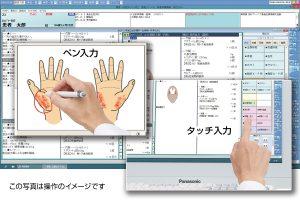 Medicon-HRkⅢの画面