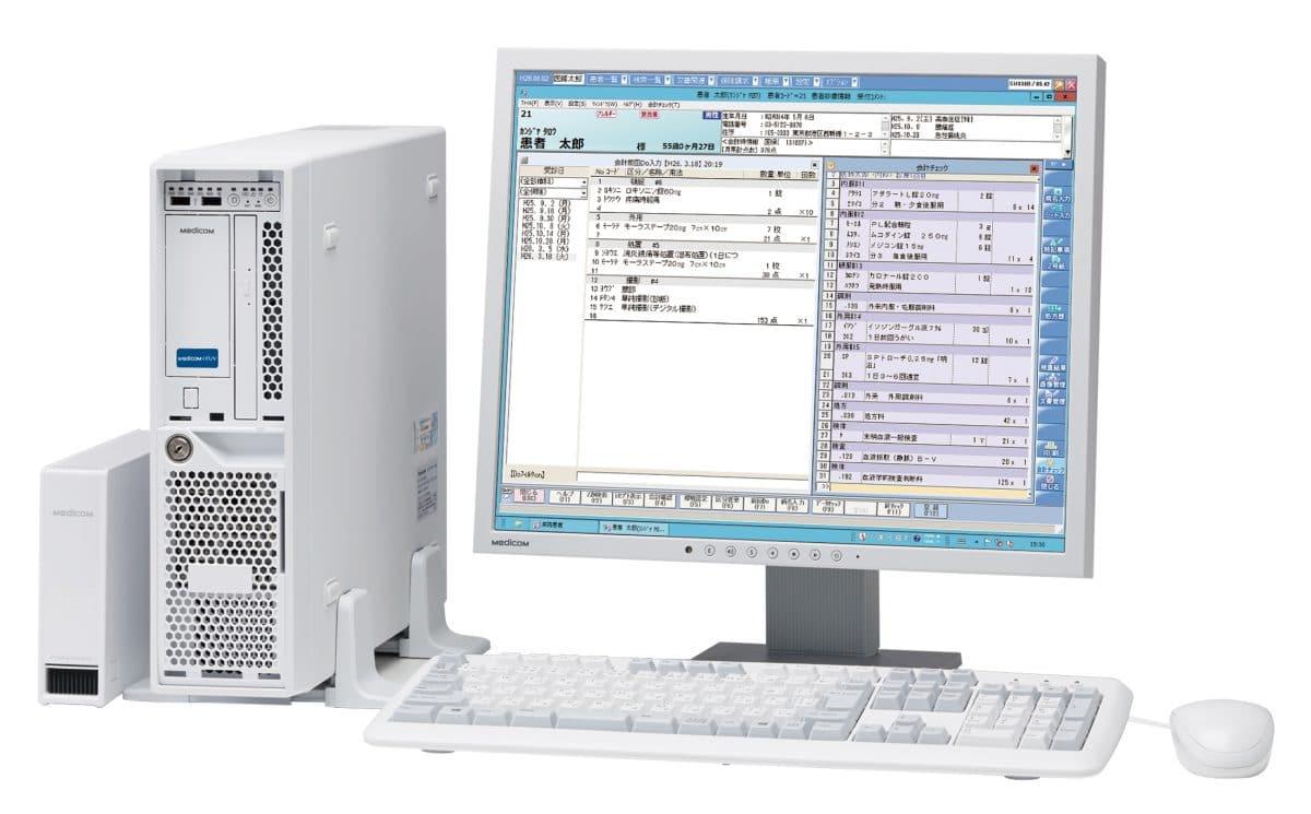 レセプトコンピューター Medicom-HRiV