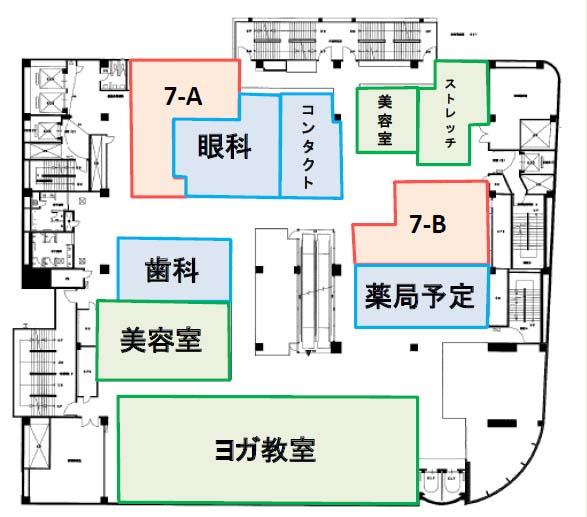 草加マルイ医療モール地図